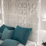 1060 White Versailles Decorative wall panels hotel room