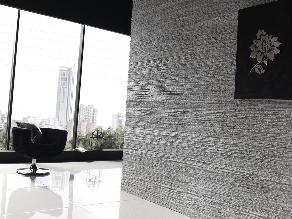 371 Italian White Premier Wall panel french window