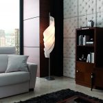 471 White Capitone faux stone wall cladding living room