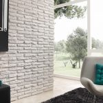 White Old Faux Brick Wall Cladding (481)