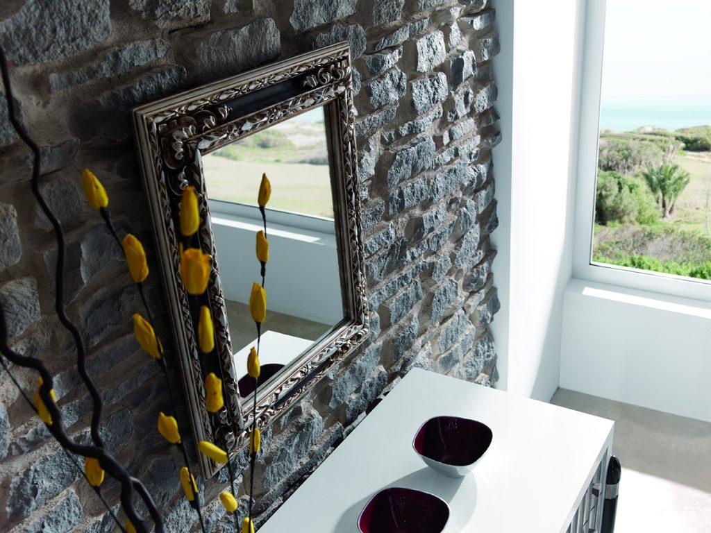 Two Tone Arid Stone - Mirror (122)